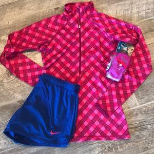 HOST PICK Nike Pro Front Half Zip Running Shirt